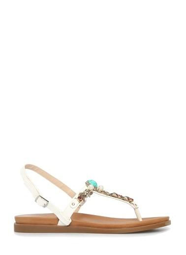 Divarese Sandalet Beyaz